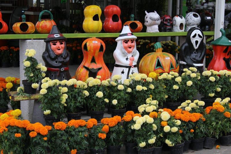 Mexikaner Halloween stockbild