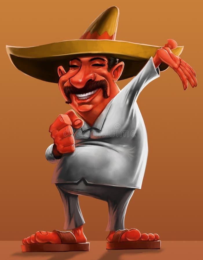 Mexikanisch vektor abbildung