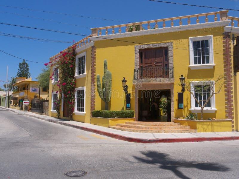Mexikanische Architektur stockfotos