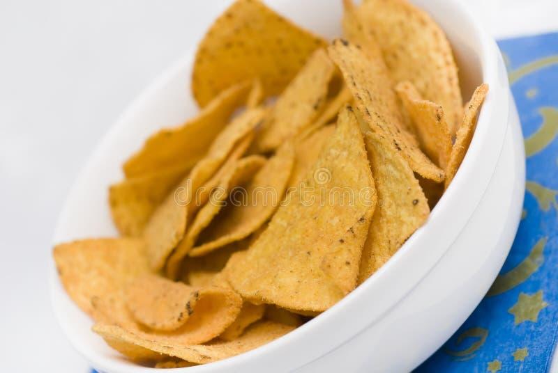 Mexikanische Chips stockbild