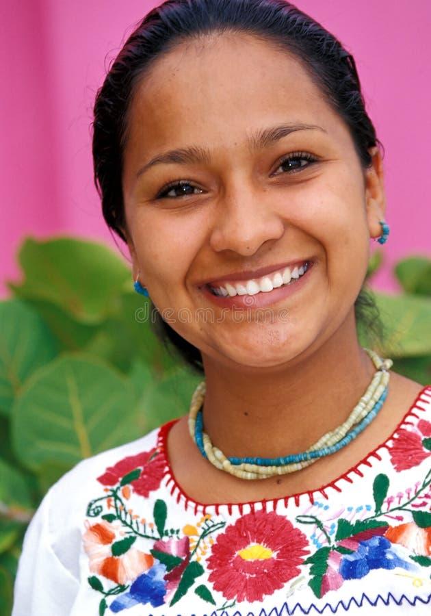Mexikanische Dame stockfotos
