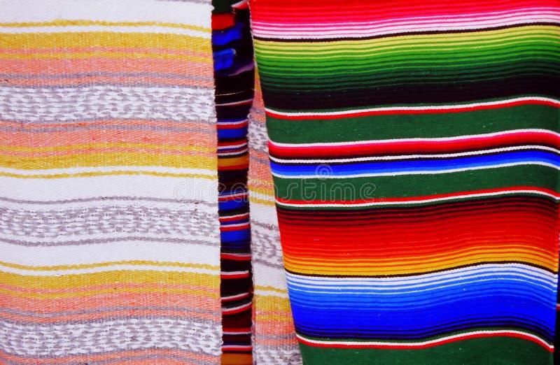 Mexikanische Decken lizenzfreie stockbilder