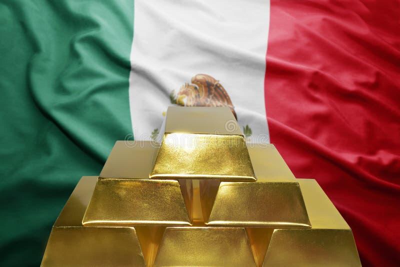 Mexikanische Goldreserven lizenzfreie stockfotografie