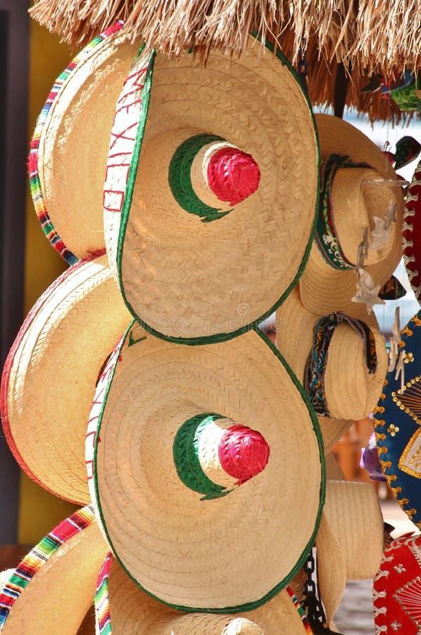 Mexikanische Hüte lizenzfreies stockbild