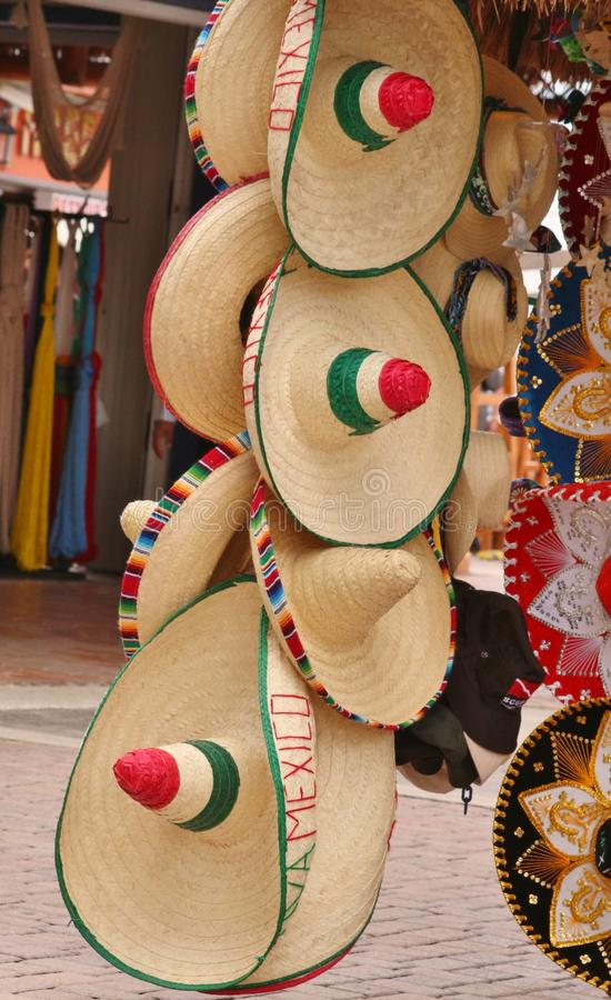 Mexikanische Hüte stockfoto