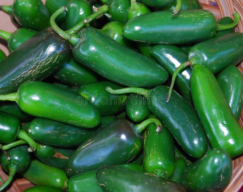 Mexikanische Jalapeno-Paprika-Pfeffer stockfotos