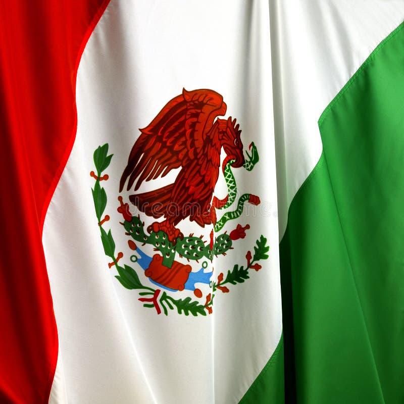 Download Mexikanische Markierungsfahne Stockbild - Bild von adler, symbol: 12236549