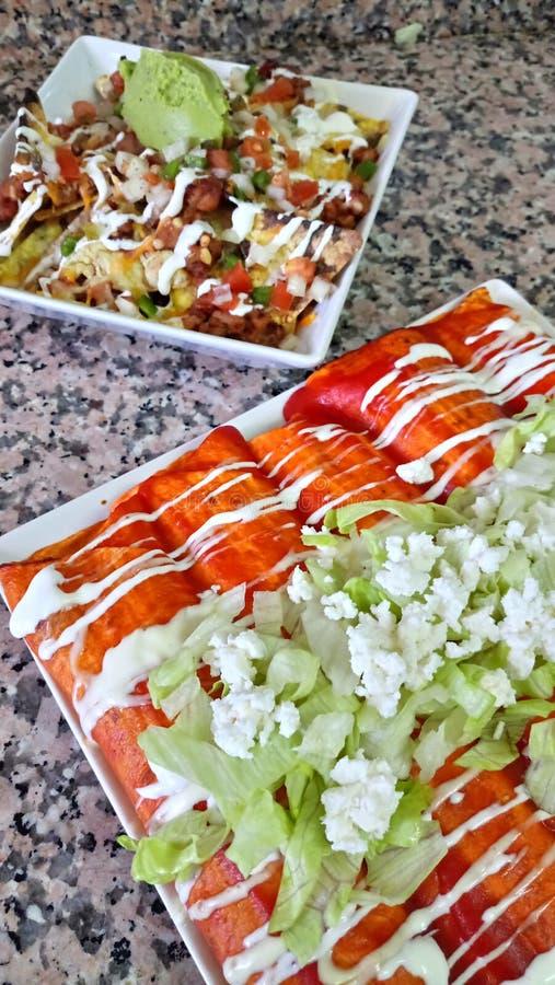 Mexikanische Nahrung stockfoto