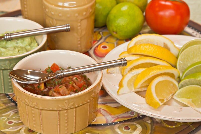 Mexikanische Nahrungsmittelwürzen stockfoto