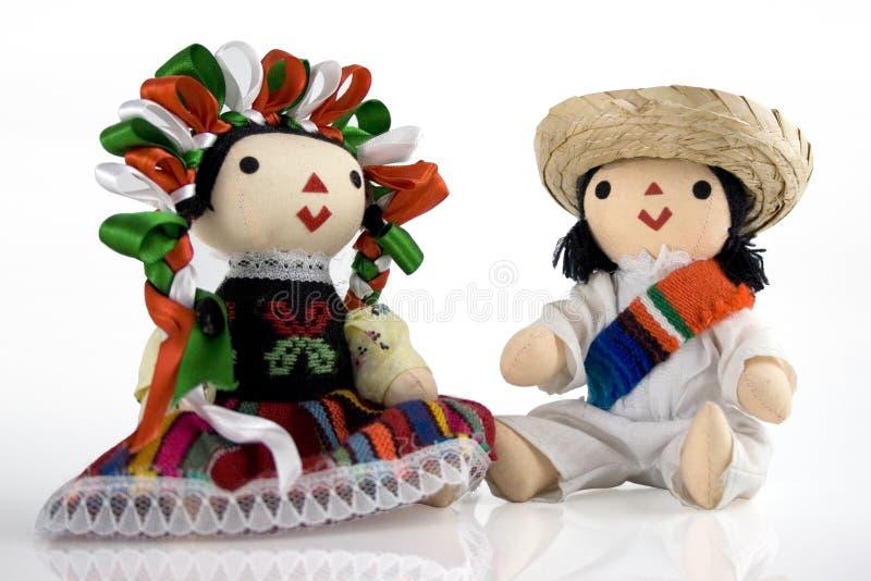Mexikanische Puppen stockbilder