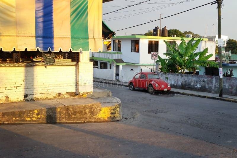 Mexikanische Straßen-Szene stockfoto