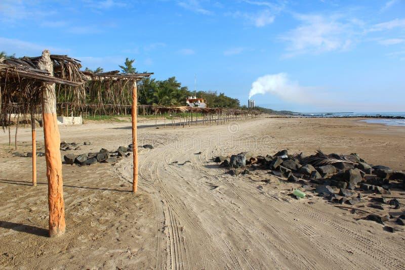 Mexikanische Strand-Szene lizenzfreie stockbilder