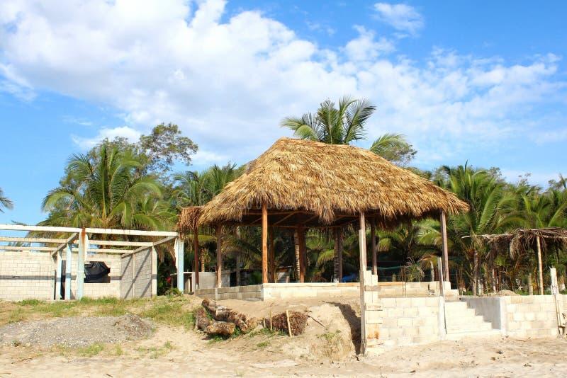 Mexikanische Strand-Szene stockfotos