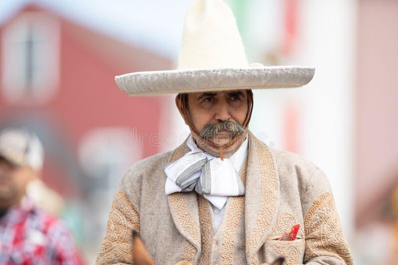 Mexikanische Unabhängigkeits-Parade lizenzfreie stockfotografie