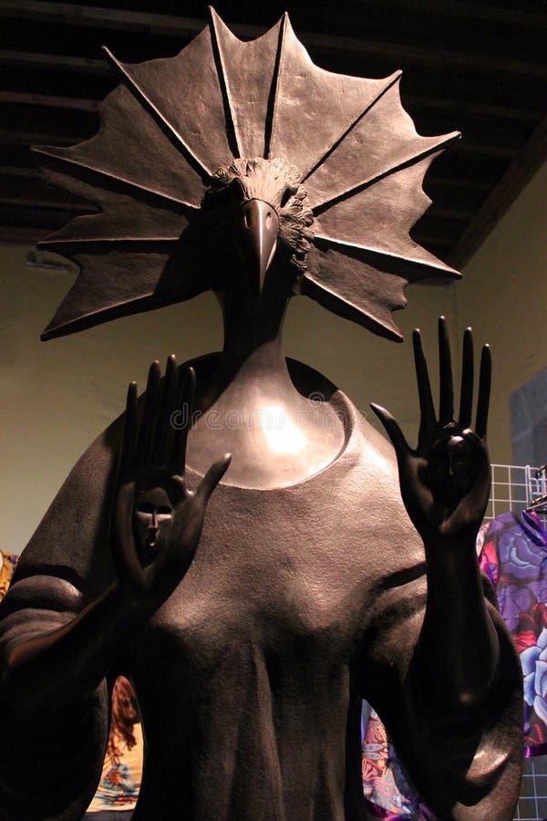 Mexikanische Zahl des Monsterskeletts, Tag Dias de Los Muertos des Todes tot lizenzfreies stockbild