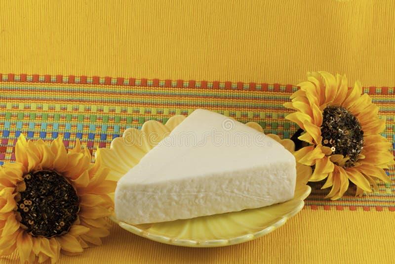 Mexikanischer Cotija Käse stockfotos