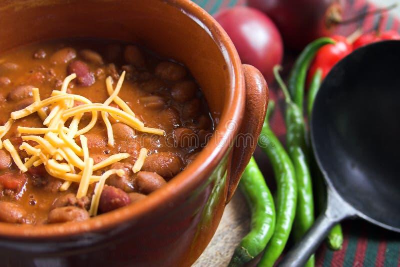 Mexikanischer Paprika mit Käse lizenzfreies stockfoto