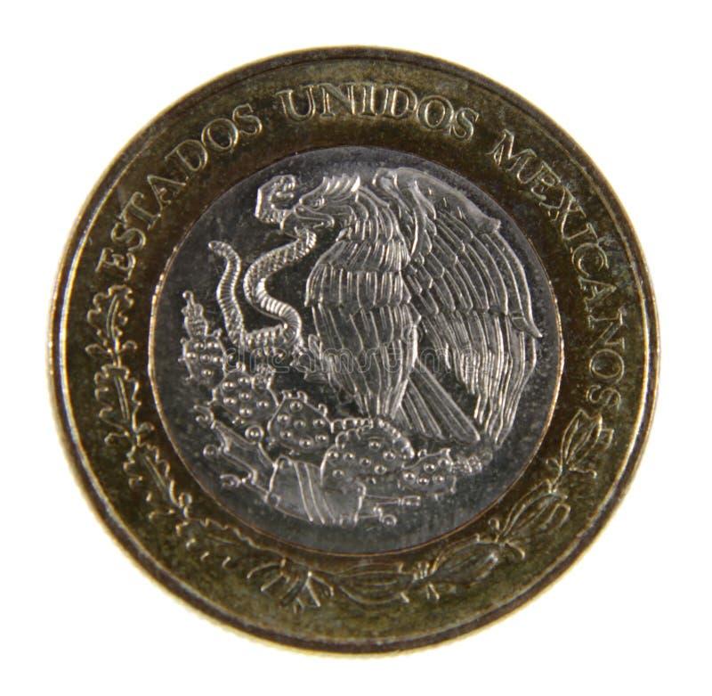 Mexikanischer Peso-Nahaufnahme lizenzfreies stockfoto