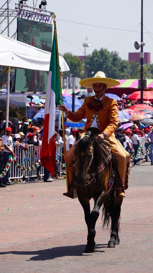 Mexikanischer Reiter lizenzfreie stockbilder