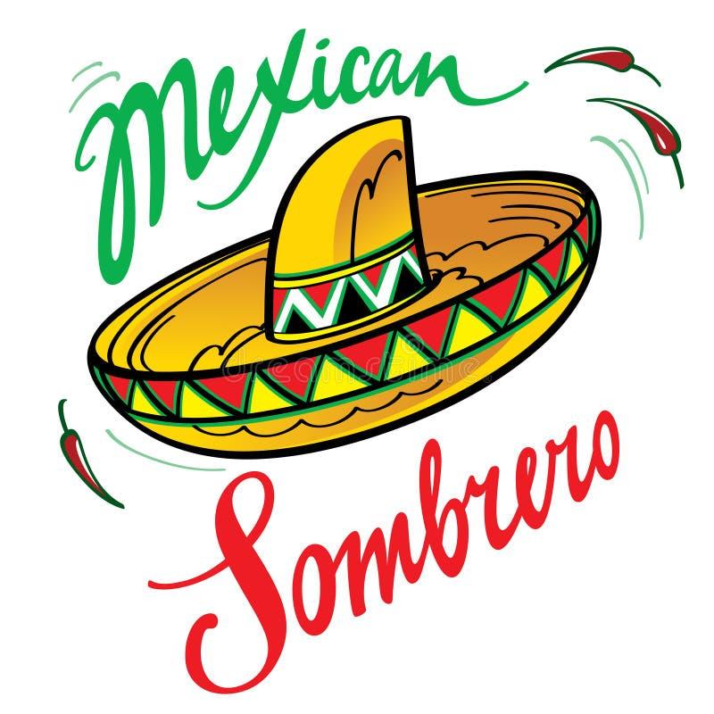 Mexikanischer Sombrero stockfotografie