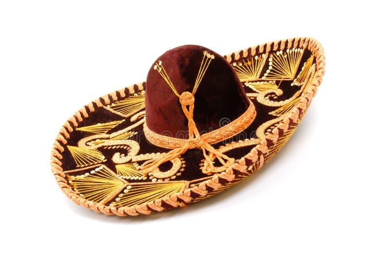 Mexikanischer Sombrero stockbild