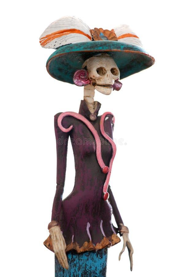 Mexikanisches Catrina stockbild
