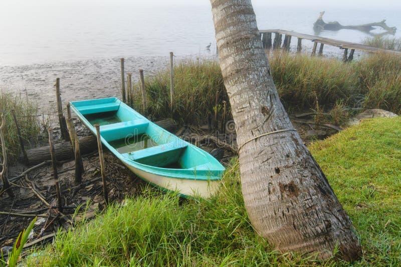 Mexikanisches Fischerboot lizenzfreie stockbilder