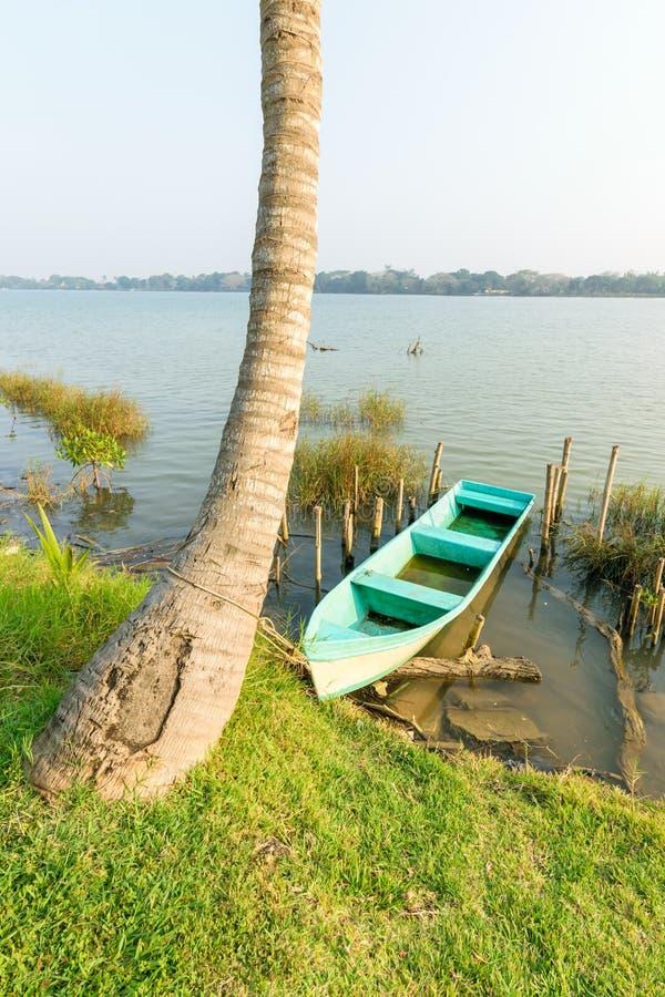 Mexikanisches Fischerboot stockbild