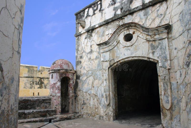 Mexikanisches Fort Stockfoto
