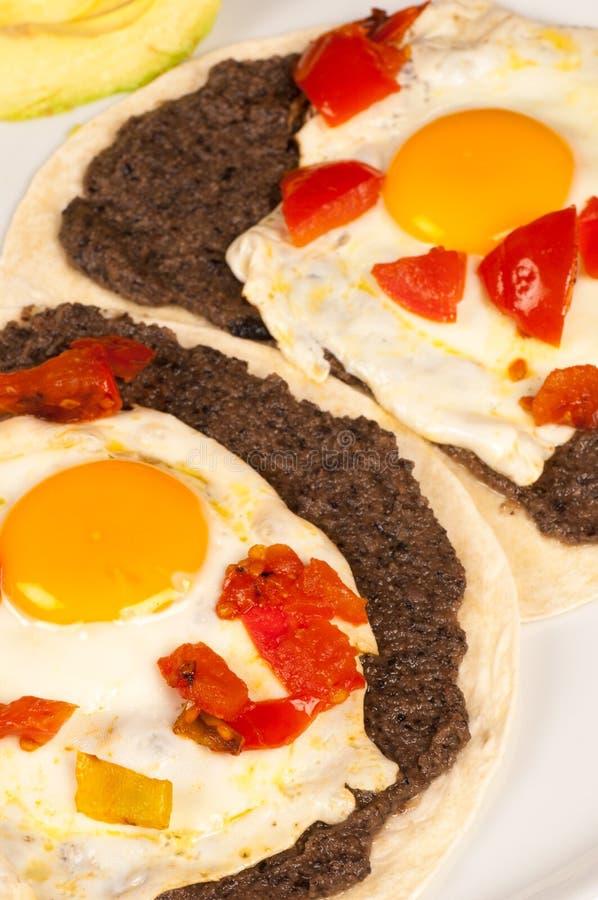 Mexikanisches Frühstück lizenzfreie stockfotografie