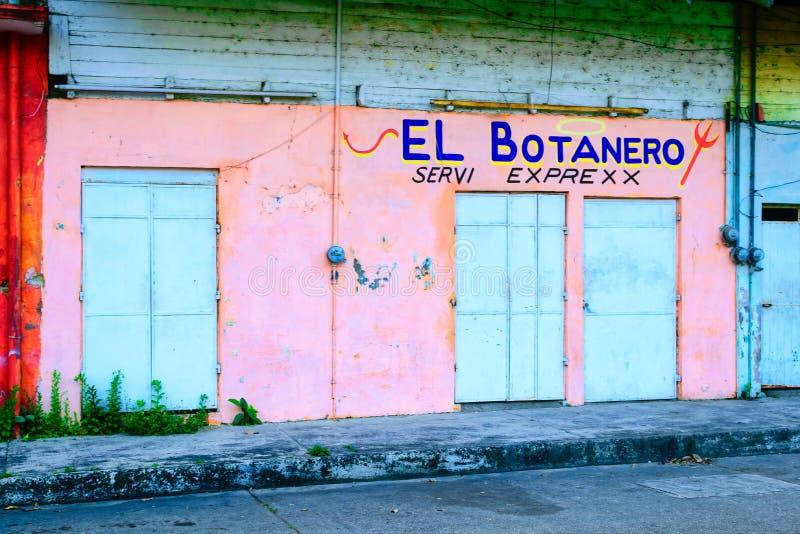 Mexikanisches Gebäude stockbild