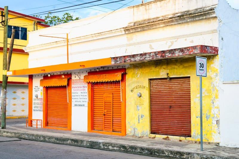 Mexikanisches Gebäude lizenzfreies stockfoto