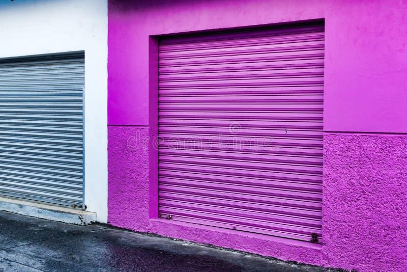 Mexikanisches Gebäude stockfoto