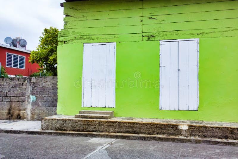 Mexikanisches Gebäude stockfotografie