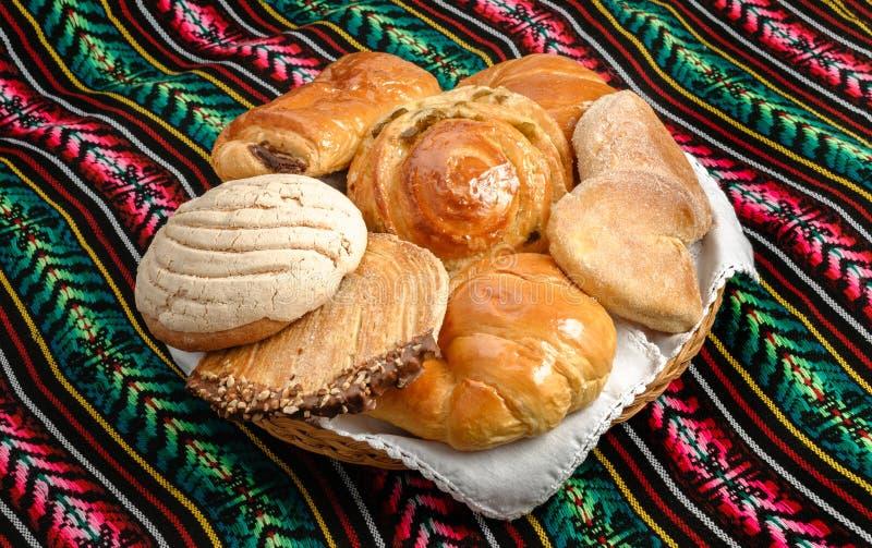 Mexikanisches süßes Brot stockbild