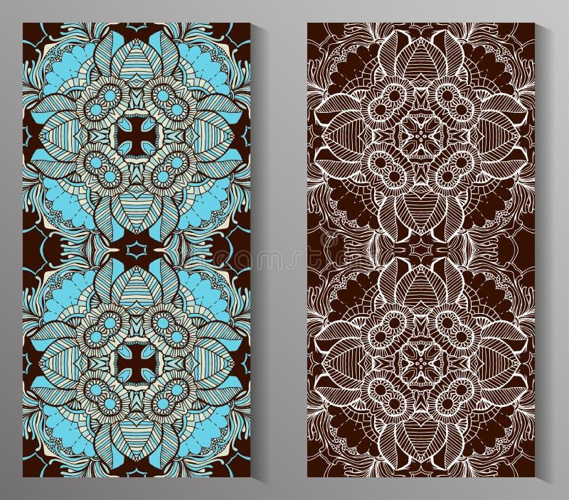 Mexikanisches stilisiertes Talavera deckt nahtloses Muster mit Ziegeln Hintergrund für Design und Mode Arabische, indische Muster vektor abbildung