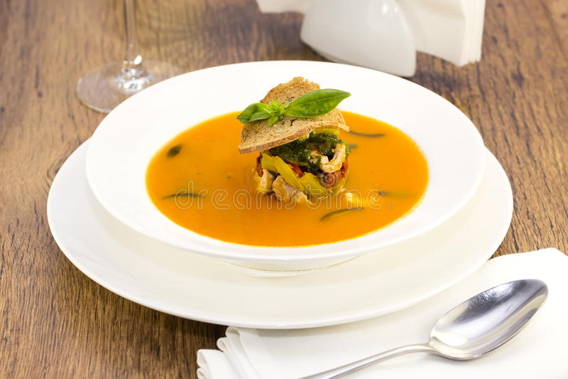 Mexikanisches Suppenpüree lizenzfreies stockfoto