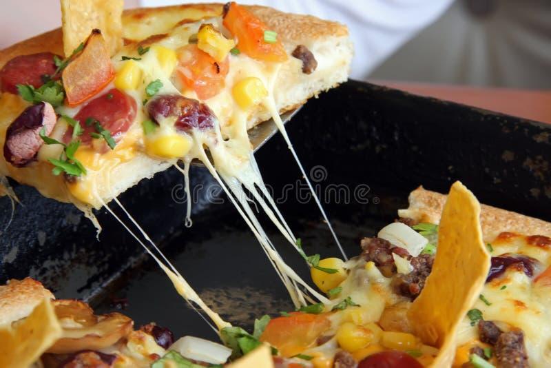 mexikansk pizza royaltyfri bild