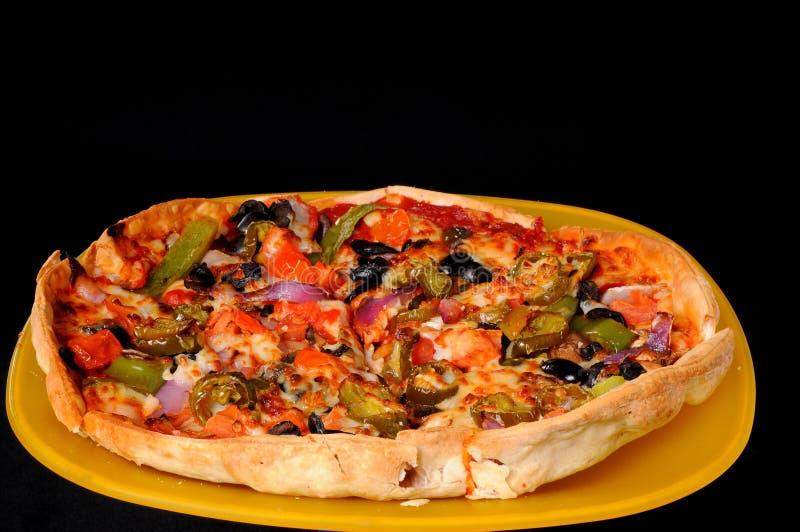 mexikansk pizza royaltyfria bilder