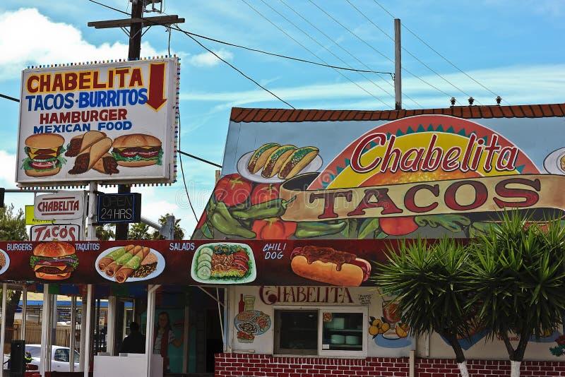 mexikansk restaurang fotografering för bildbyråer