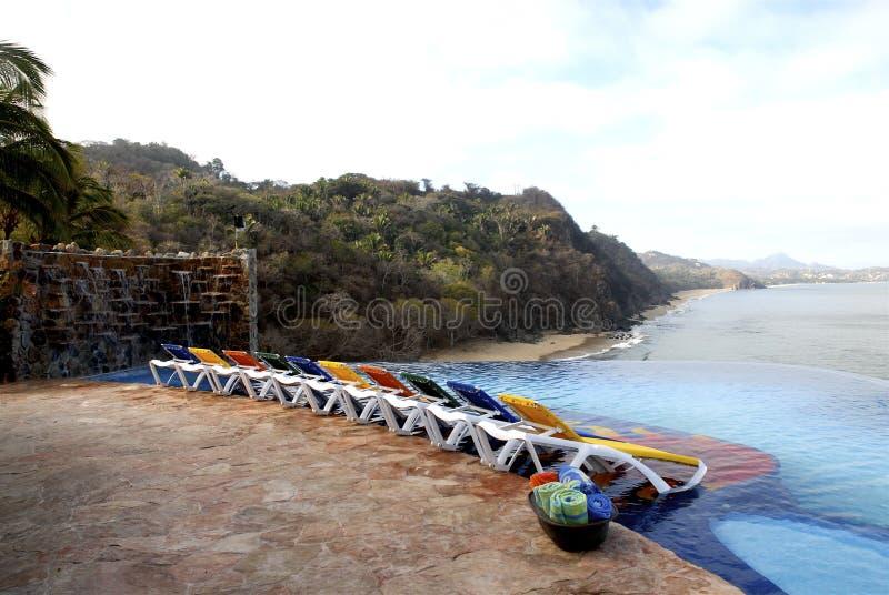 mexikansk Stillahavs- sikt royaltyfri foto