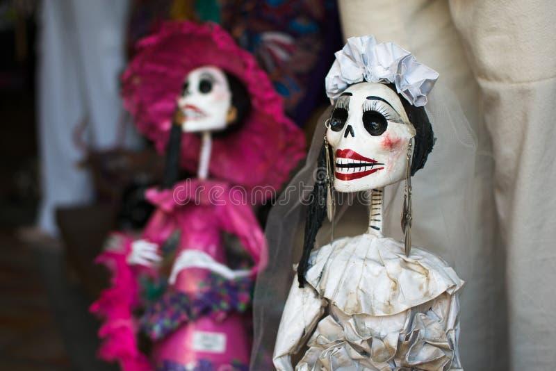 mexikanska catrinas royaltyfri fotografi