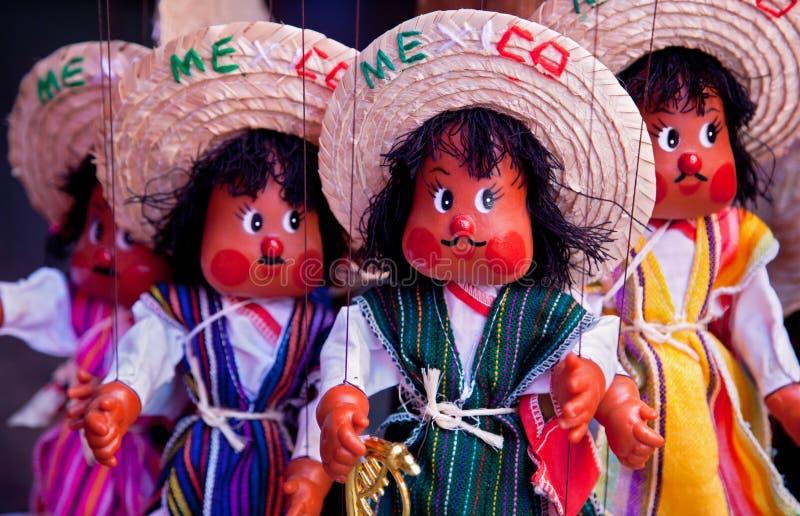 mexikanska dockor royaltyfria bilder