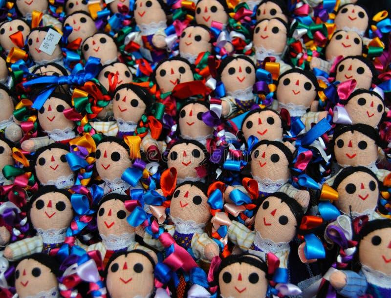 mexikanska dockor arkivbild