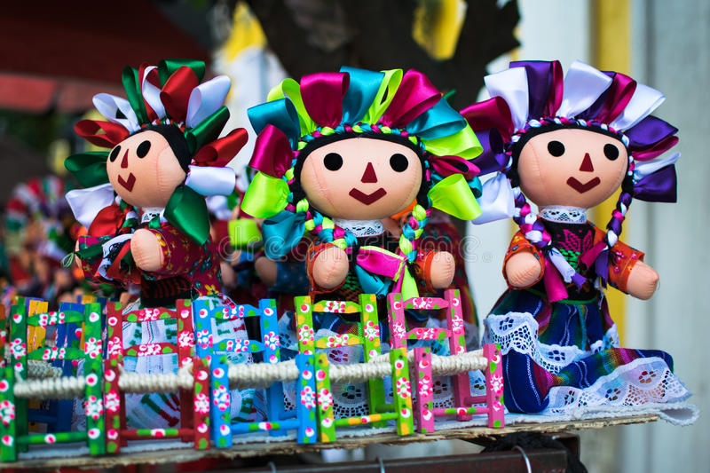 mexikanska dockor royaltyfri fotografi