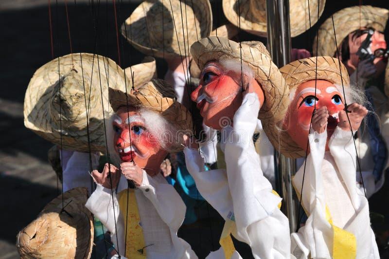 mexikanska marionettes royaltyfri fotografi