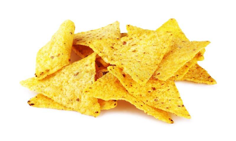 mexikanska nachos royaltyfri bild