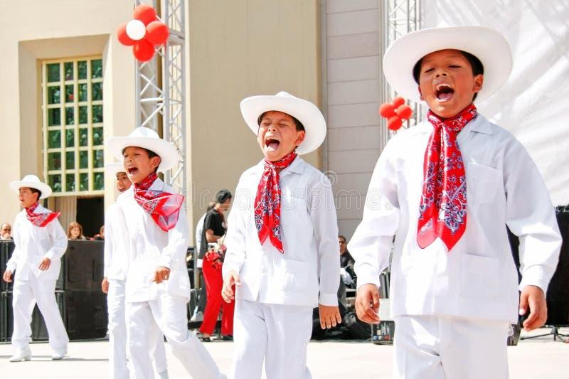 mexikanska pojkar royaltyfria bilder