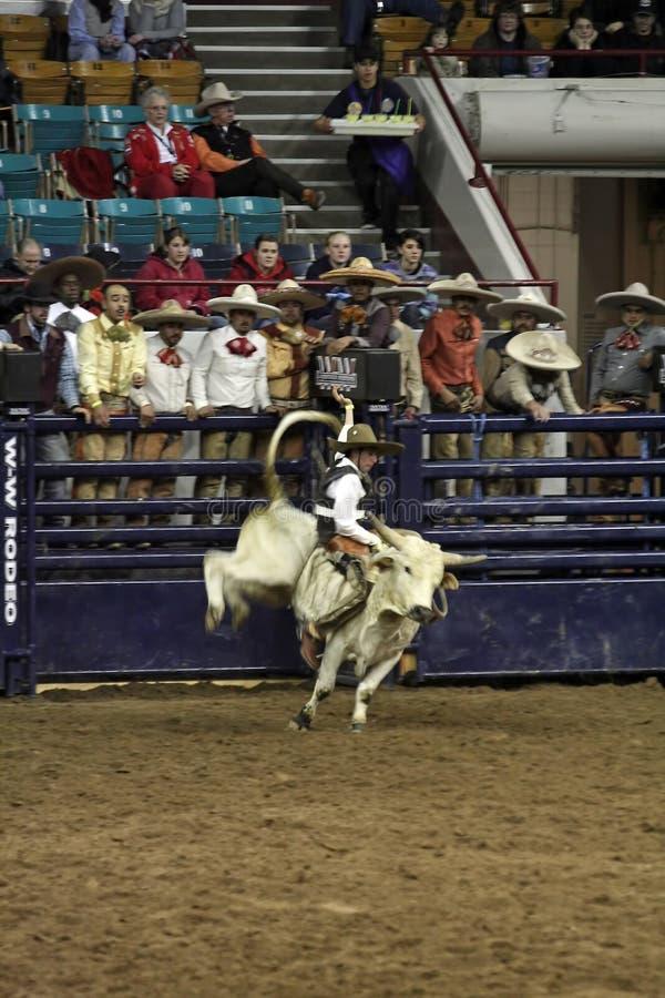 mexikanskt nationellt västra rodeoshowmateriel royaltyfria foton