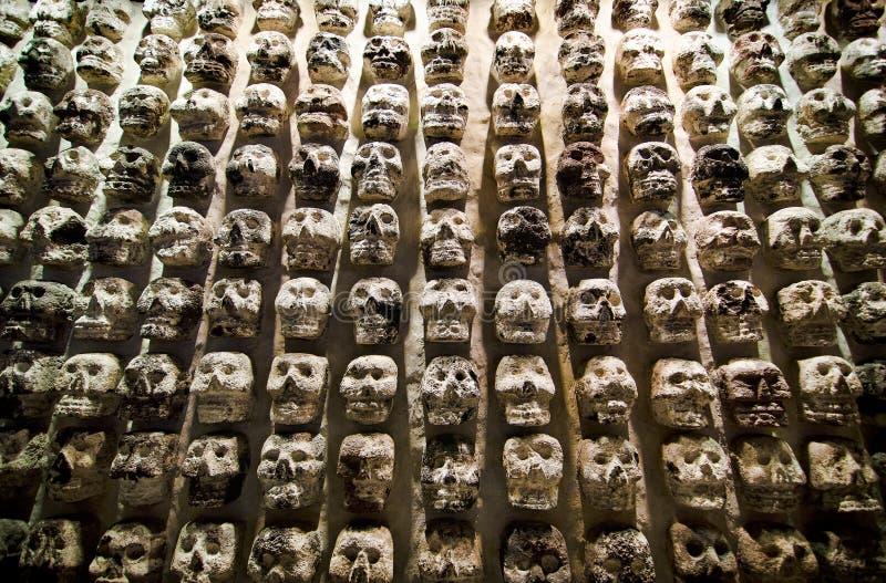 Mexiko City, Mexiko - 12. April 2012 Museum von Templo Bürgermeister stockfotografie